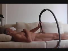 German Smooth Grandpa and his Vacuum Cleaner porn tube video