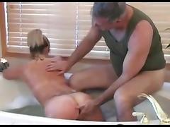 Spanking, Bath, Bathing, Bathroom, BDSM, Blowjob