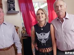 Presley Carter Fucks With Old Man For Concert Ticket porn tube video