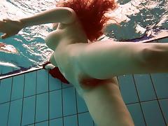 Pool, Hairy, Pool, Redhead