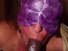 Blindfold Suck porn tube video