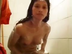 Naughty Jennifer pinay helper take her shower porn tube video