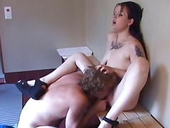 Amazing pornstar in fabulous cunnilingus, brunette sex video