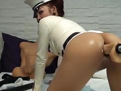 Sex machine fucks intense ass NightFireQueen porn tube video