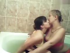 Bath, Amateur, Bath, Bathing, Bathroom, Lesbian