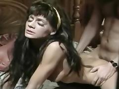 Spraying a Thick Creamy Load on Fran Tidwells Wet Hairy Pussy