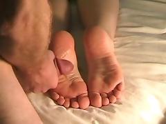 The best huge feet cumshot ever!!! porn tube video