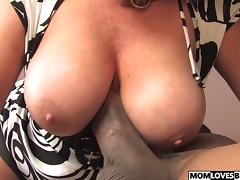 Dana Hayes gets fucked by a BBC in front of son