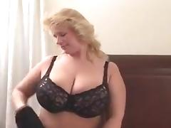 BBW, BBW, Blonde, Caught, Chubby, Chunky