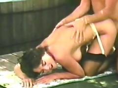 Incredible pornstar in best cunnilingus, vintage sex video
