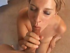 big tit hottie blows