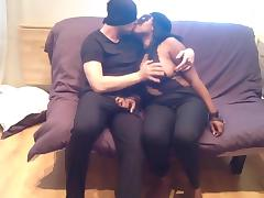 Amateur- French Black Girl Extrem Deepthroat - 23 Years Old tube porn video