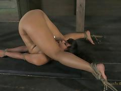 Beautiful Annie Cruz is an exotic babe who needs to be punished! porn tube video