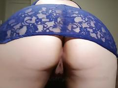Slut gets ass Streched Deep POV anal fuck Messy Creampie