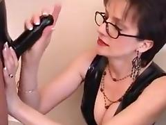 Lady sonia - latex cock treatment porn tube video