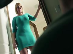 Stepmom, Big Cock, Mature, Stepmom, Mother in Law, Big Natural Tits