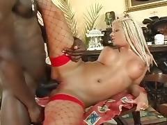 White Slut Fucked By Monster Black Dick
