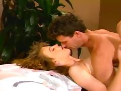 Stephanie Page Blows Her Man On The Bed