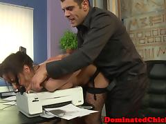 Boss dominating secretary sub porn tube video