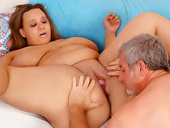 Sara Wilson in Bbw Sara Wilson Gets Her Plump Pussy Drilled. - JeffsModels porn tube video