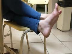 Feet, College, Feet, Hidden, Italian, Teen