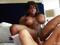 Black MILF called Yvette and the white dick inside her hole porn tube video