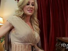 Brandi Love Femdom Milf foot worship tube porn video