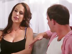 Horny MILF called McKenzie Lee still successfully rides the dong porn tube video