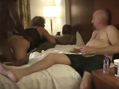 Husband Enjoys Watching Amateur Cuckold Wife Swing - Part 2