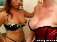 Hot lesbian slut gets fucked part5