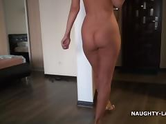 Left home nude porn tube video