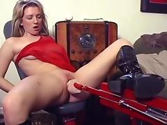 Crazy pornstar Taffy Divine in hottest blonde, dildos/toys sex scene