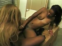 Black lesbians big boobs