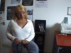 Blonde Auditions For A Porn Movie