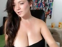Cute, Amateur, Big Tits, Boobs, Brunette, Chubby
