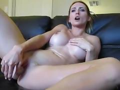 She's skinny but can ride that toy like a real professional! porn tube video