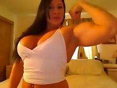 Muscle flex porn tube video