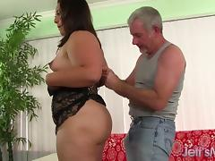 Plumper sex dog style porn tube video