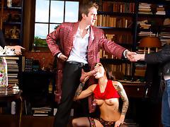 Nikita Bellucci, Danny D in Sherlock: A XXX Parody Episode 1 - DigitalPlayground