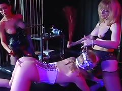 Anna Double Teamed By Strap-on Bitches