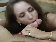 Classy Broad Hungry For Sticky Cum Load