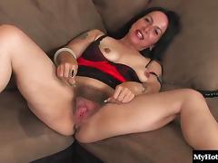 Lesbians having hot sex