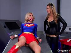 Bondage & roleplay with two super hot blondes porn tube video