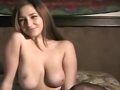 Amazing Amateur video with Big Tits, Masturbation scenes porn tube video