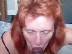 Redhead blowjob porn tube video