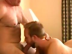 Hot hairy daddy tube porn video