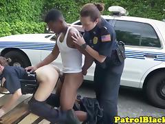 Femdom cop demands suspect to fuck her tube porn video