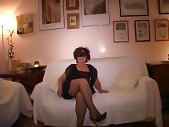 Mature threesome porn tube video