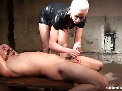 Submissed.com Slave's controlled orgasm porn tube video