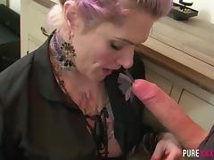 Banging my busty Milf stepmom tube porn video